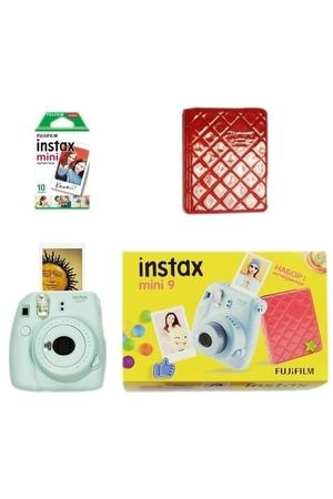 "Набор ""Instax Mini 9 Ice Blue Set Fest"""