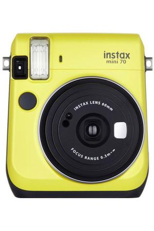 "Фотоаппарат ""Instax Mini 70 Yellow EX"""