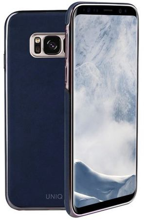 "Чехол для Galaxy S8 ""Glacier Luxe Navy blue"""