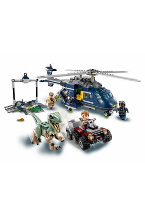 Конструктор Lego Jurassic World 75928 Мир Юрского Периода Погоня за Блю на вертолёте