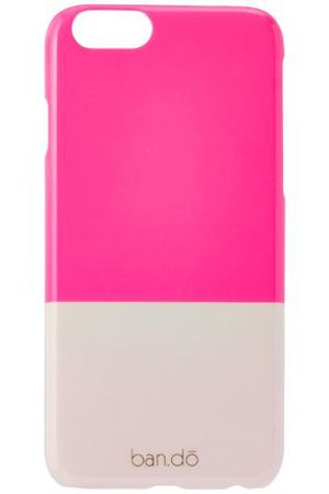 "Чехол для iPhone 6 ""Color Block Neon Pink + Blush"""