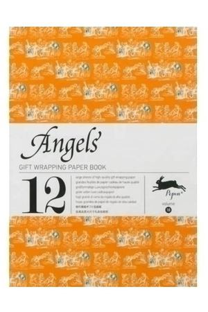 Gift Wrapping Paper Book. Angels