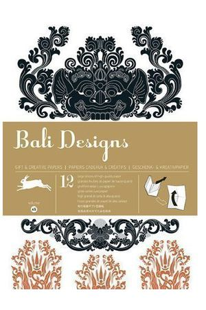 Gift Wrapping Paper Book. Bali Designs