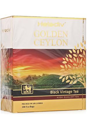 чай Heladiv GC VINTAGE BLACK TEA, 100 пак