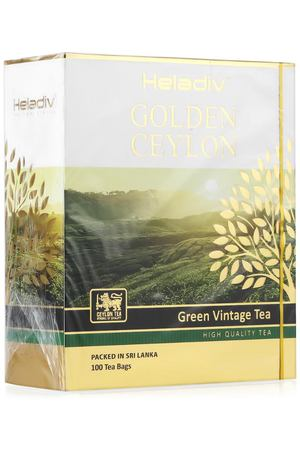 чай Heladiv GC VINTAGE GREEN TEA, 100 пак