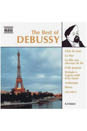 "CD Диск Various Artists ""Debussy, Claude / The Best Of Debussy"", 1 CD"