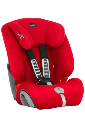 Автокресло группа 2/3 (15-36кг) Britax Roemer Evolva 123 Plus Fire Red Trendline