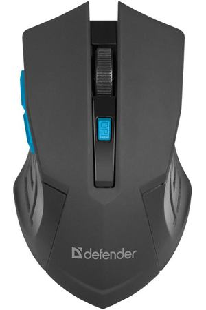 мышь Defender Accura MM-275 USB, blue
