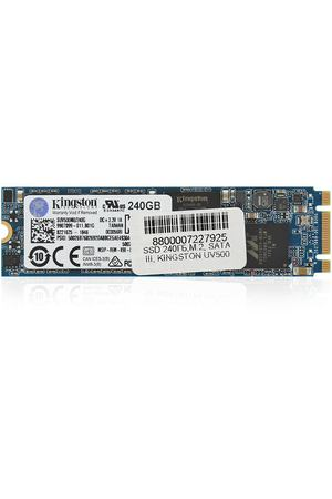 SSD накопитель 240ГБ, M.2, SATA III, Kingston UV500, SUV500M8/240G