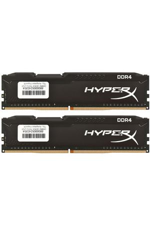 DIMM DDR4, 16ГБ (2x8ГБ), Kingston HyperX Fury Black, HX426C16FB2K2/16