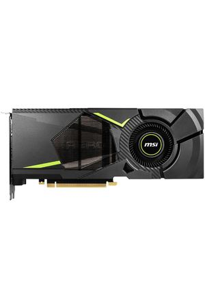 Видеокарта MSI GeForce® RTX 2070, RTX 2070 AERO 8G, 8ГБ, GDDR6, Retail