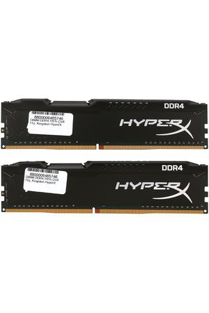 DIMM DDR4, 16ГБ (2x8ГБ), Kingston HyperX Fury Black, HX432C18FB2K2/16
