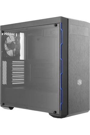 корпус CoolerMaster MasterBox MB600L Blue Trim, черно-синий, MCB-B600L-KA5N-S01