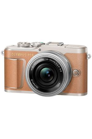 Фотоаппарат системный Olympus E-PL9 brown + 14-42mm EZ silver