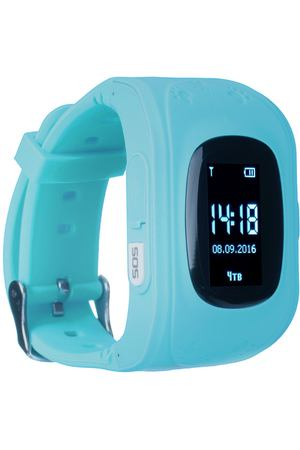 Часы с GPS трекером Jet KID Start Light Blue