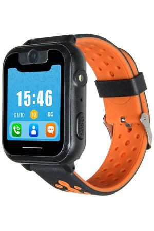 Часы с GPS трекером Digma Kid K7m Black/Orange