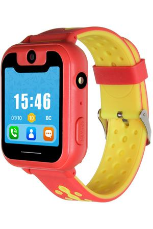 Часы с GPS трекером Digma Kid K7m Red/Yellow