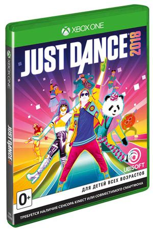 Xbox One игра Ubisoft Just Dance 2018