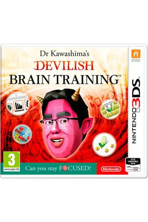 3DS игра Nintendo Devilish Brain Training