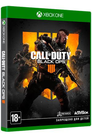 Xbox One игра Activision Call of Duty:Black Ops 4