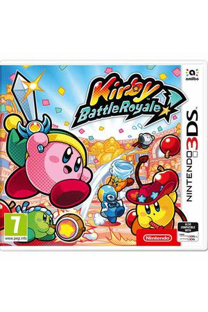 3DS игра Nintendo Kirby Battle Royale