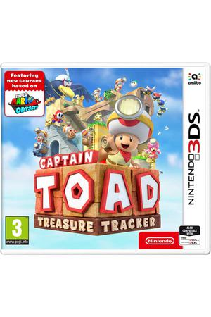 3DS игра Nintendo Captain Toad: Treasure Tracker