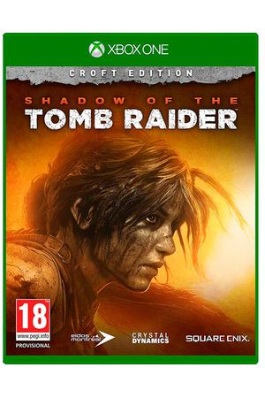 Xbox One игра Square Enix Shadow of the Tomb Raider. Издание Croft