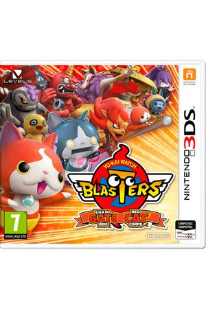 3DS игра Nintendo Yo-Kai Blasters Red Cat