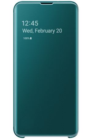 Чехол Samsung Clear View Cover для Galaxy S10E, Green