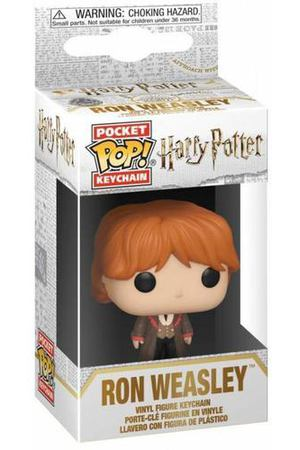 "Брелок Pocket POP! Keychain ""Harry Potter: Ron (Yule)"""