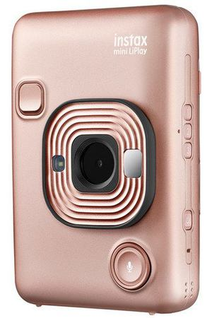 "Фотоаппарат ""Instax Mini LiPlay Blush Gold"""