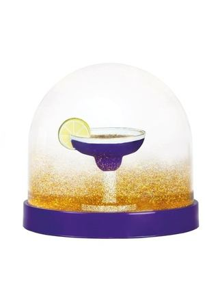 "Снежный шар ""Wonderball cocktail purple"", 8,5 см"
