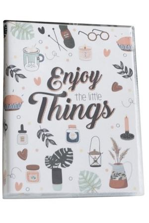 "Планер ""Enjoy the little things"", 288 страниц, 12 х 16 см"