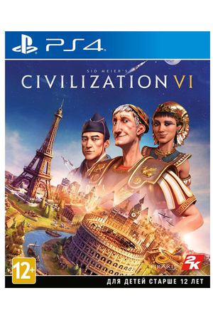 PS4 игра Take Two Sid Meier's Civilization VI