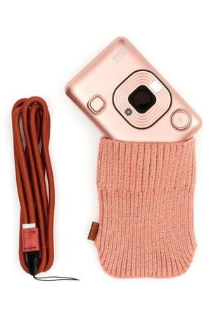 "Набор ""Instax Mini LiPlay Blush Gold Bundle Hard"""