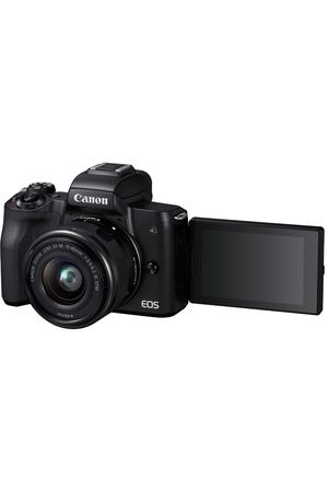 Фотоаппарат системный Canon EOS M50 EF-M15-45 IS STM Kit Black