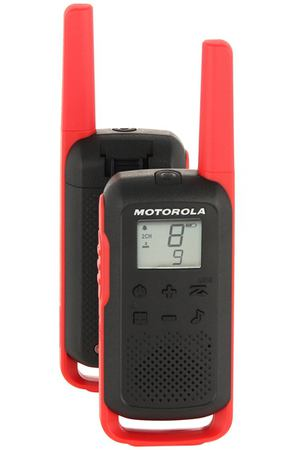 Рация Motorola TalkAbout T62 Red/Black (2 штуки)