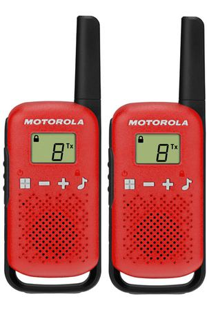 Рация Motorola Talkabout T42 Red/Black (2 штуки)