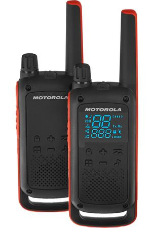 Рация Motorola Talkabout T82 Red/Black (2 штуки)