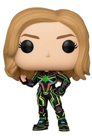 "Фигурка POP! Bobble ""Marvel: Captain Marvel: Captain Marvel w/Neon Suit"""