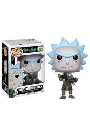 "Фигурка POP! Rick & Morty ""Weaponized Rick"""