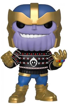 "Фигурка POP! Bobble ""Marvel: Holiday: Thanos"""