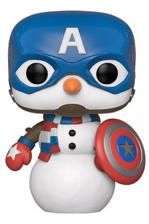 "Фигурка POP! Bobble ""Marvel: Holiday: Capt America"""