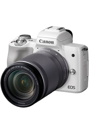Фотоаппарат системный Canon EOS M50 EF-M18-150 IS STM Kit White