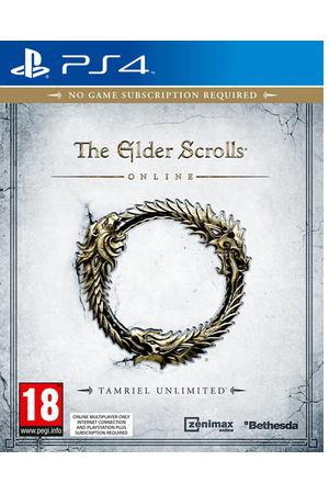 PS4 игра Bethesda The Elder Scrolls Online: Tamriel Unlimited