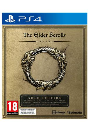 PS4 игра Bethesda The Elder Scrolls Online: Gold Edition