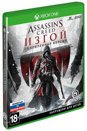 Xbox One игра Ubisoft Assassin's Creed: Изгой. Remastered
