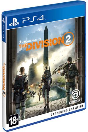 PS4 игра Ubisoft Tom Clancy's The Division 2