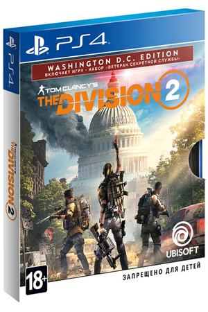 PS4 игра Ubisoft Tom Clancy's The Division 2. Washington Edition