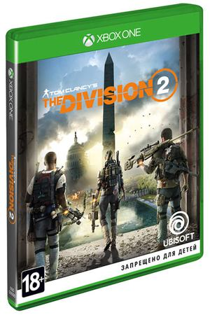 Xbox One игра Ubisoft Tom Clancy's The Division 2